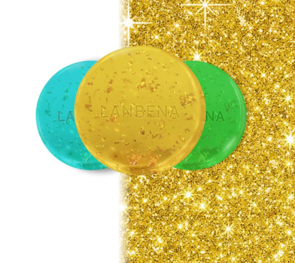 Lanbena 24K Gold Handmade Whitening Face Soap