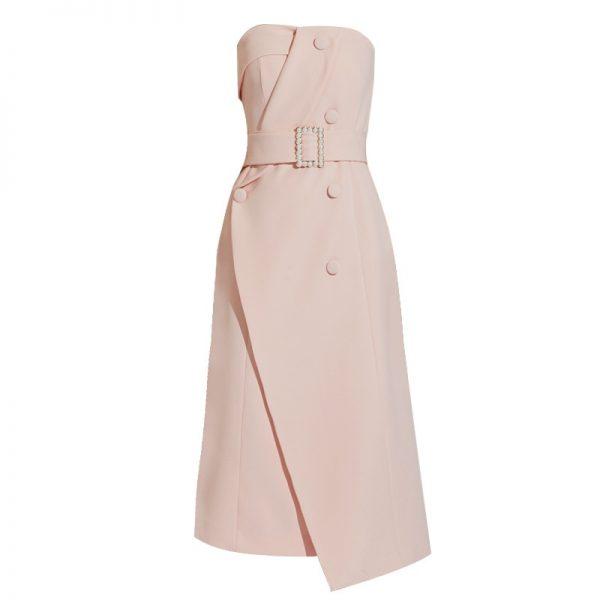 Elegant High Waist Off Shoulder Party Dress