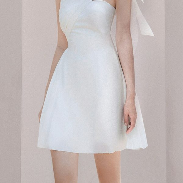 Formal Asymmetrical One Shoulder Dress