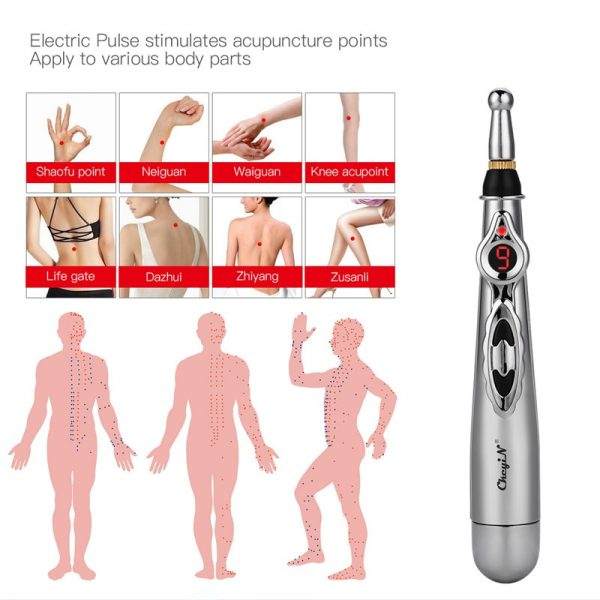 4 In 1 Pulse Acupuncture Massager Pen