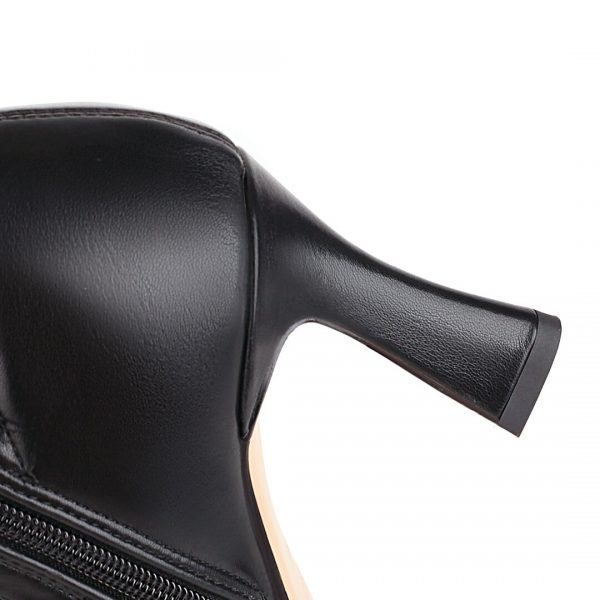 Women Gothic Knee High Shoes