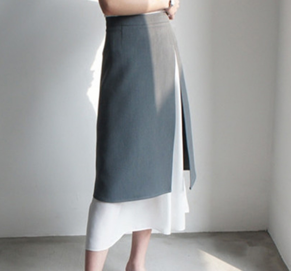 A-line Mid Calf Skirts