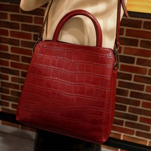 REALER Leather Luxury Handbags Women Bags Shoulder Bag Quality Leather Crossbody Bags Designer 2020 Fashion for Women Messenger