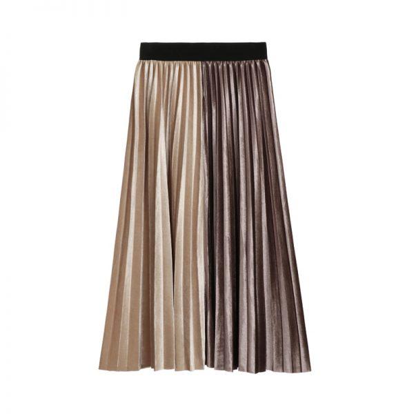 Loita Style A-line Pleated Skirt