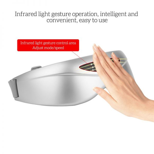 Infrared Light Controllable Eye Massager