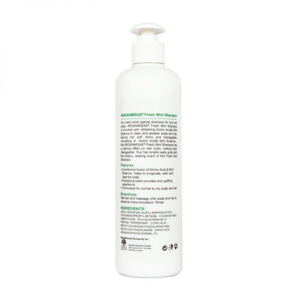 Arganmidas Fresh Mint Shampoo