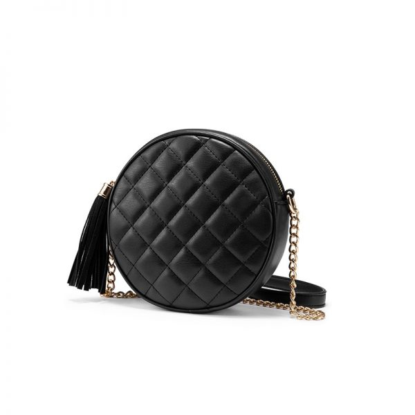 Retro Chain Small Round Shoulder Bag