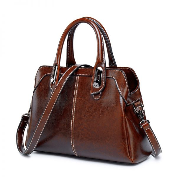 Crossbody Retro Leisure Leather Shoulder Bag